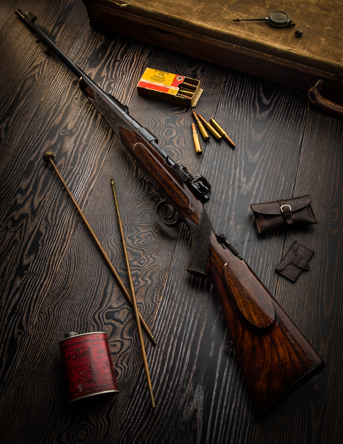 Vinatge Westley Richards .318 Accelerated Express