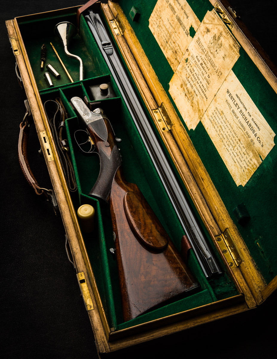 Vintage Westley Richards .303 Fixed Lock Double Rifle