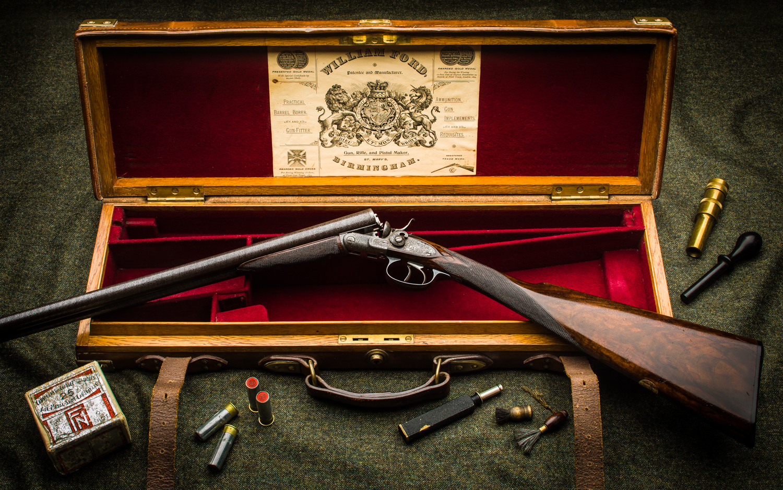 William Ford 32 Bore Trigger Guard Opening Hammer Gun