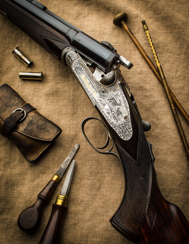 J. Rigby Rifle #17394-3742-Edit