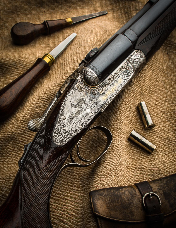J. Rigby Rifle #17394-3763-Edit