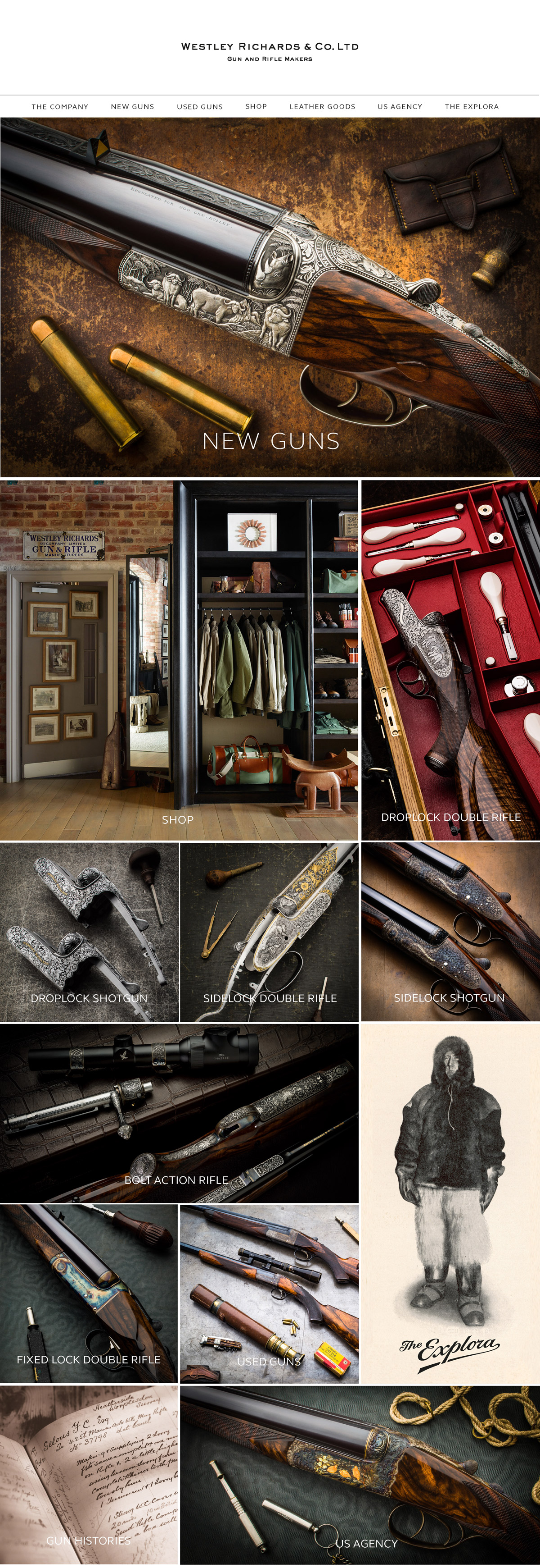New Westley Richards Website Launch