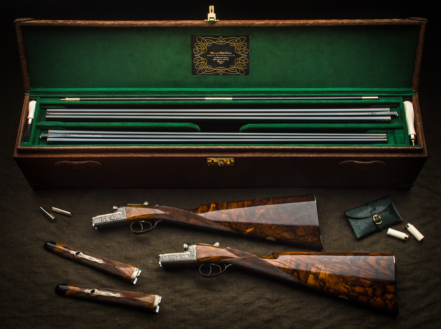 The Final Westley Richards .410 & 28g Pair Completed!