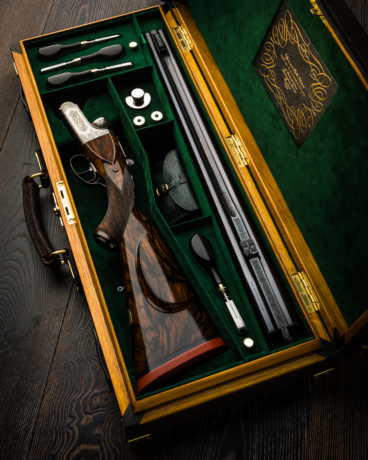 New Westley Richards .577 Hand Detachable Lock Double Rifle