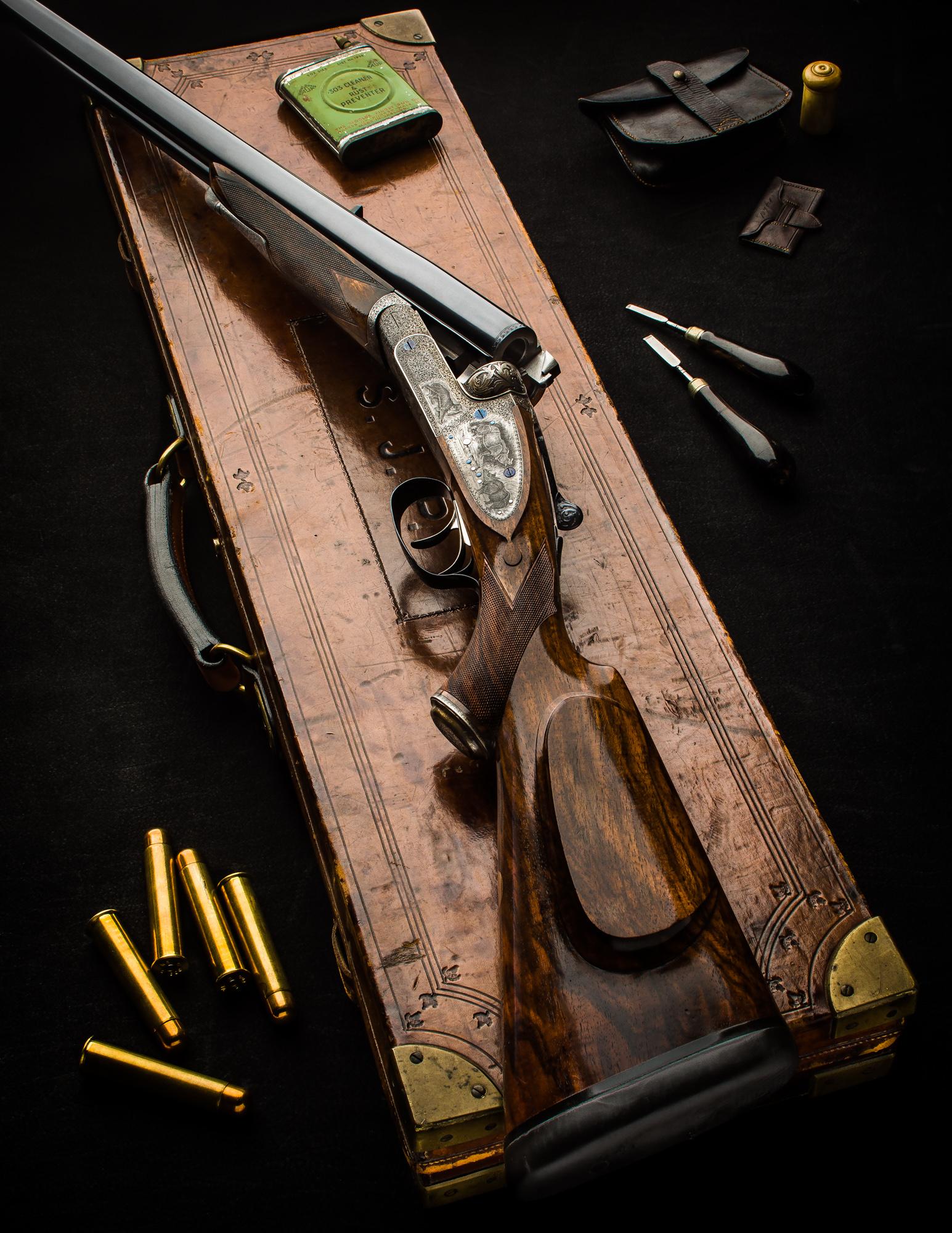 Fabulous Webley & Scott .600 Sidelock Double Rifle