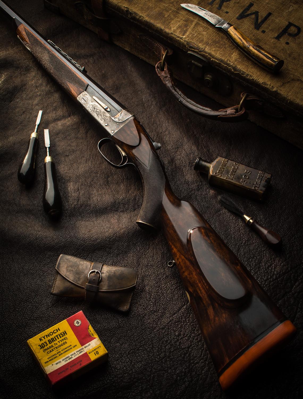 C.Boswell .303 #15008 Rifle-7402-Edit