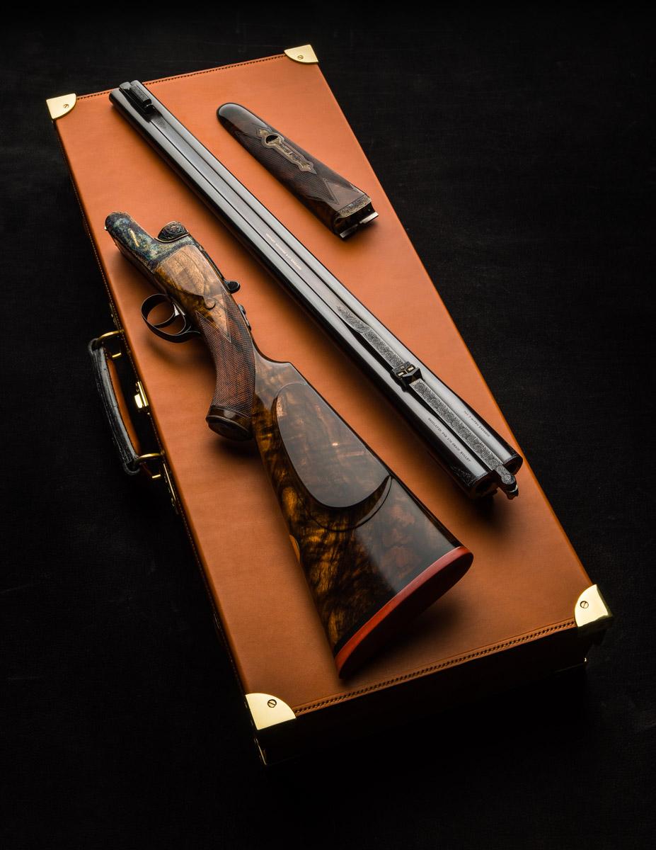 New Westley Richards .500 Droplock Double Rifle