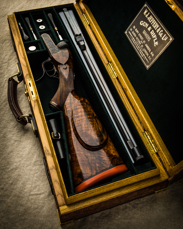 New And Unique W.J.Jeffery .600 Double Rifle