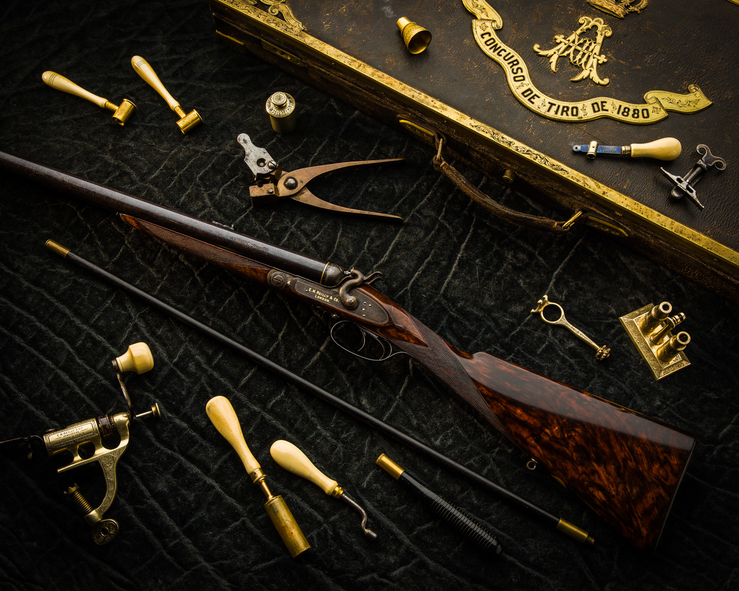 E.M.Reilly & Co. Royal Presentation Combination Gun