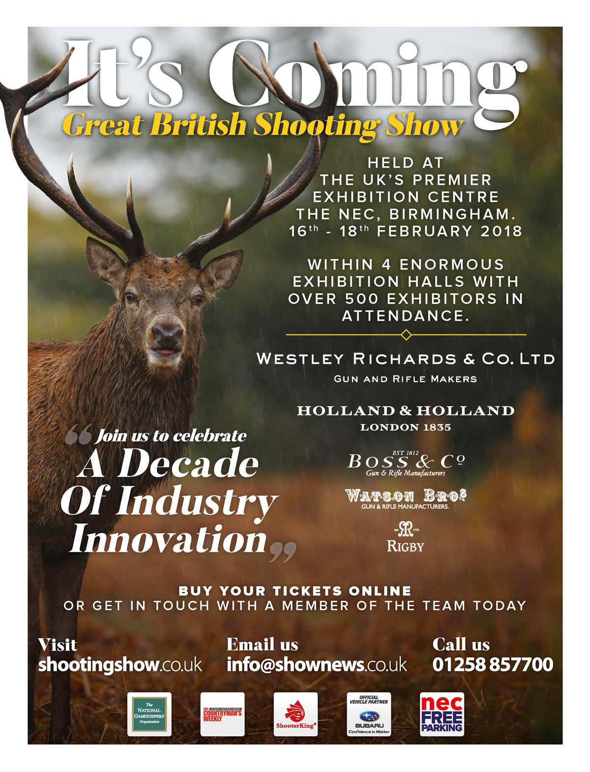 British Shooting Show '10th Anniversary' February 2018