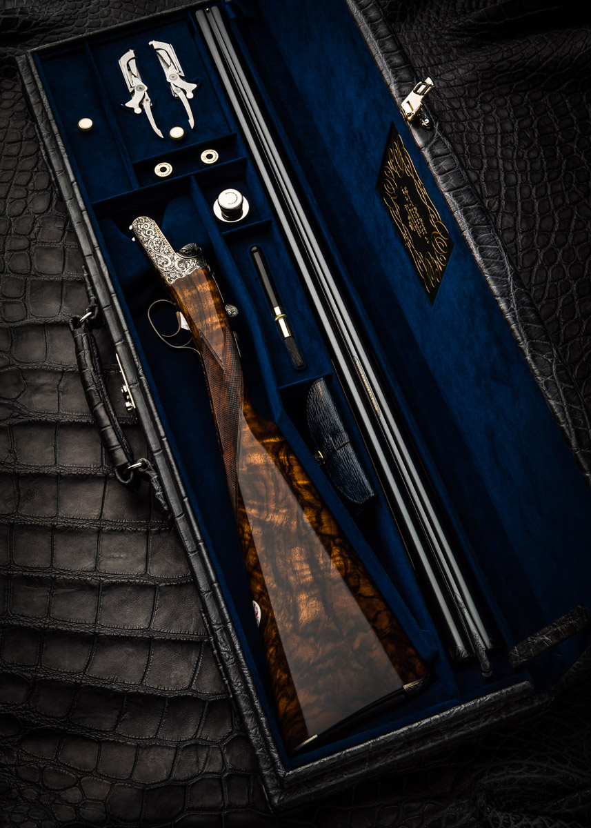 Westley Richards 'Modele de Luxe' 28g Droplock Shotgun