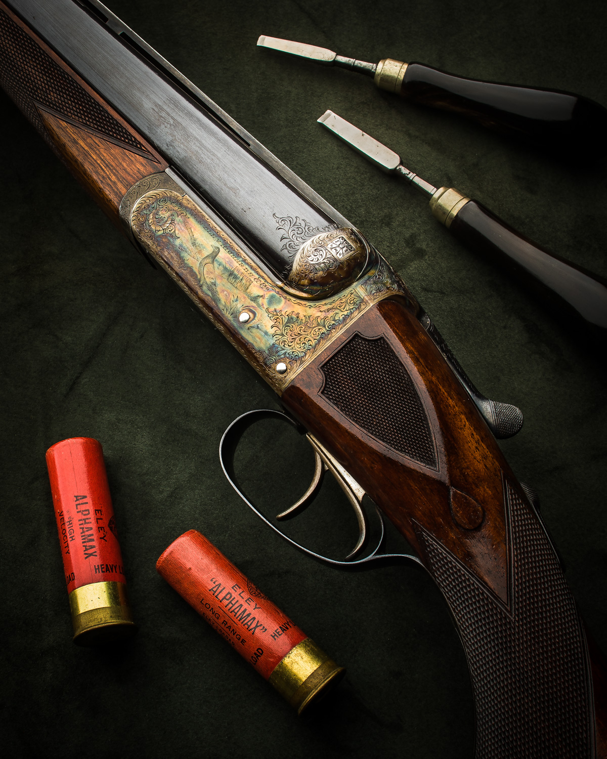 Near Mint Vintage Westley Richards 12g 'Pigeon' Gun