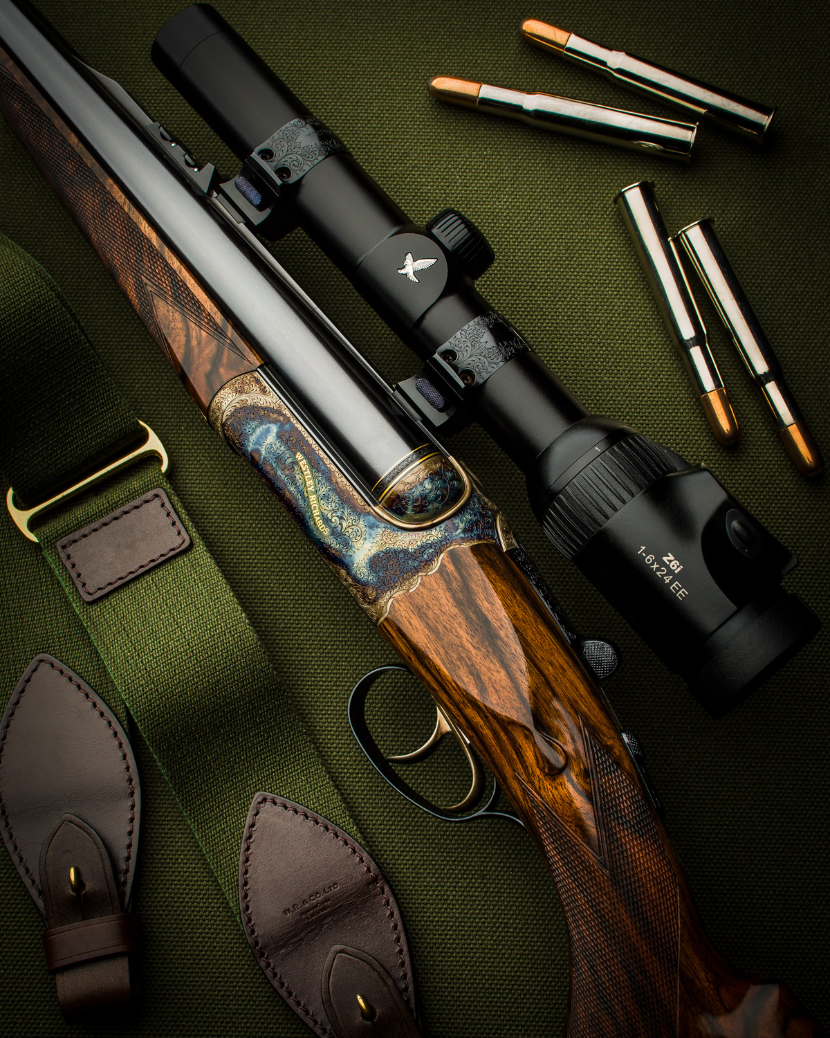 New Westley Richards .500/.416 Droplock Double Rifle