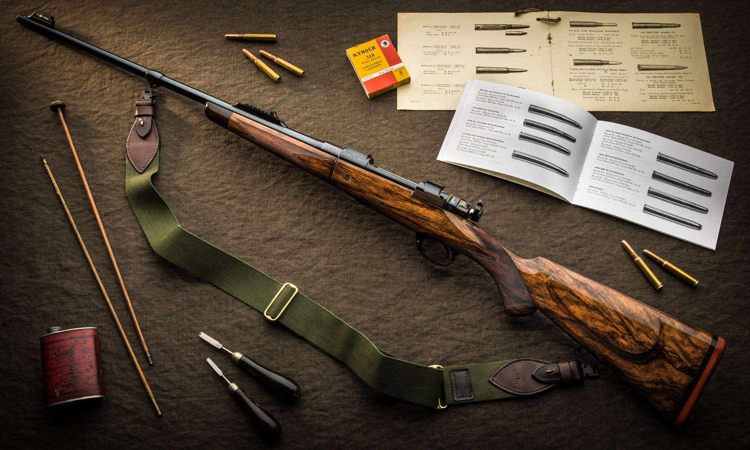 New Westley Richards .318 Take Down Bolt Action Rifle