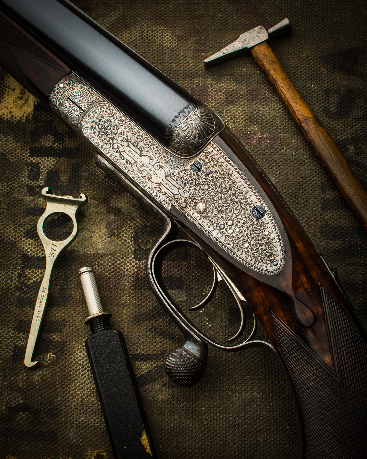 Holland & Holland .577 Black Powder Double Rifle