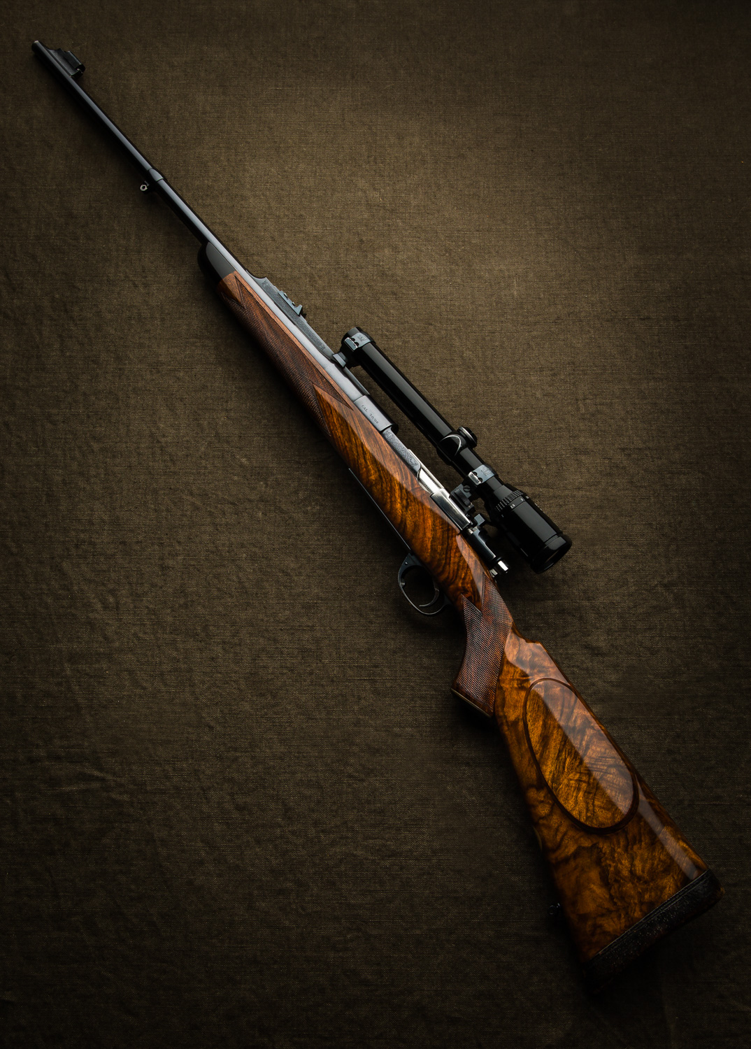 An Older Westley Richards Rifle Returns To The Factory