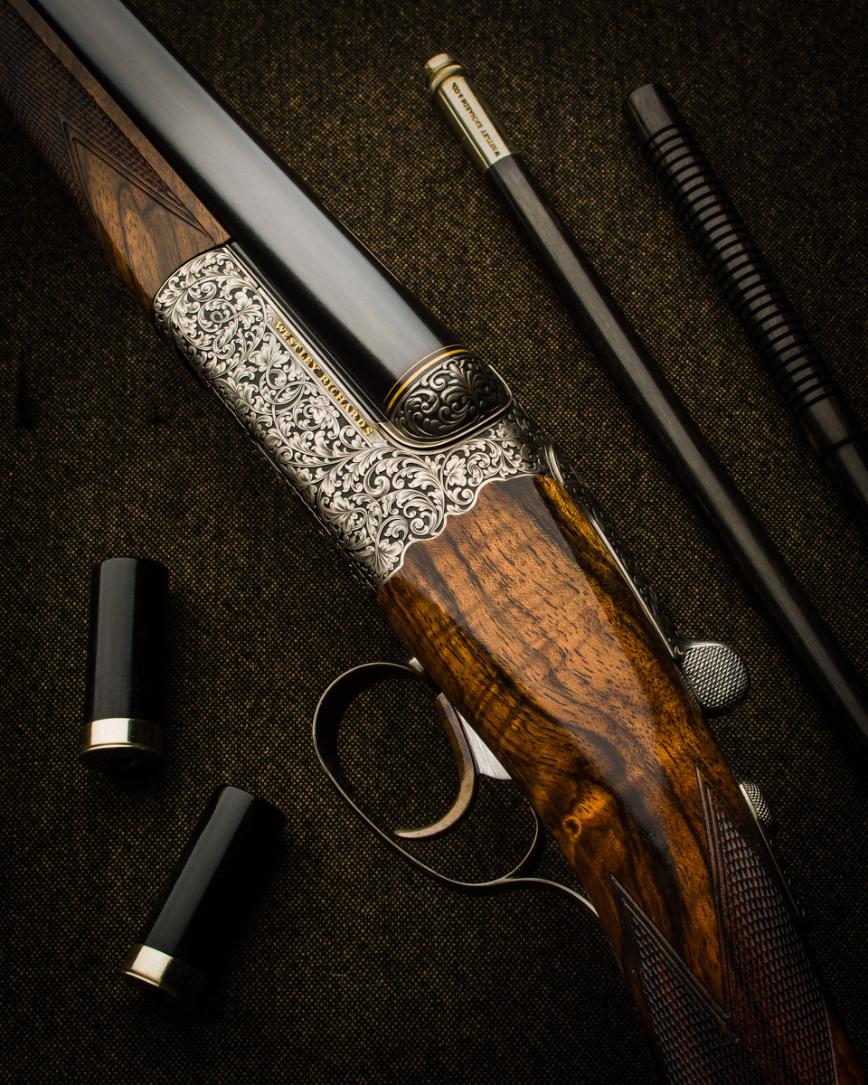 New 'Modéle de Luxe' Westley Richards 20g Droplock