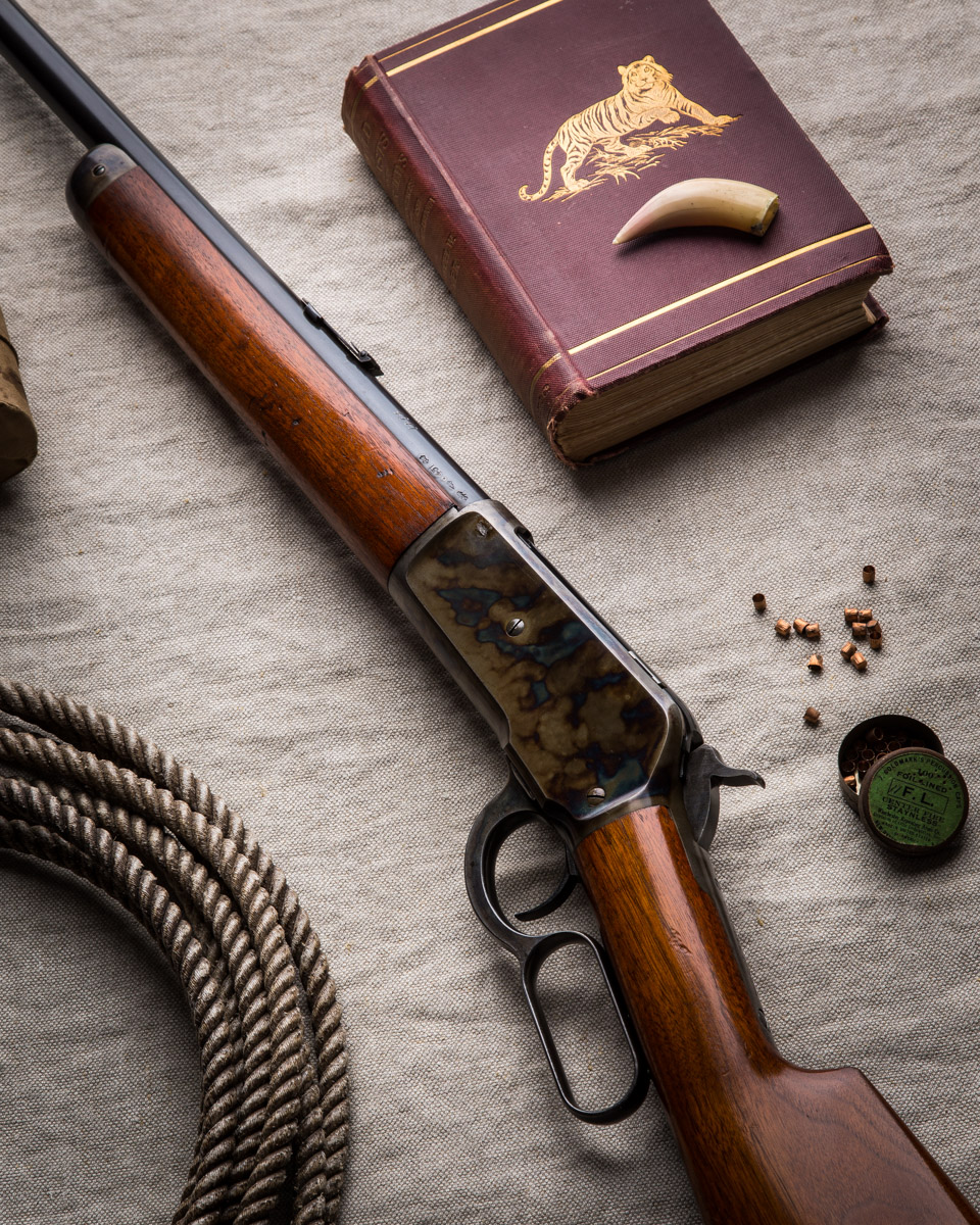 A Winchester Model 1886 for Boss & Co.
