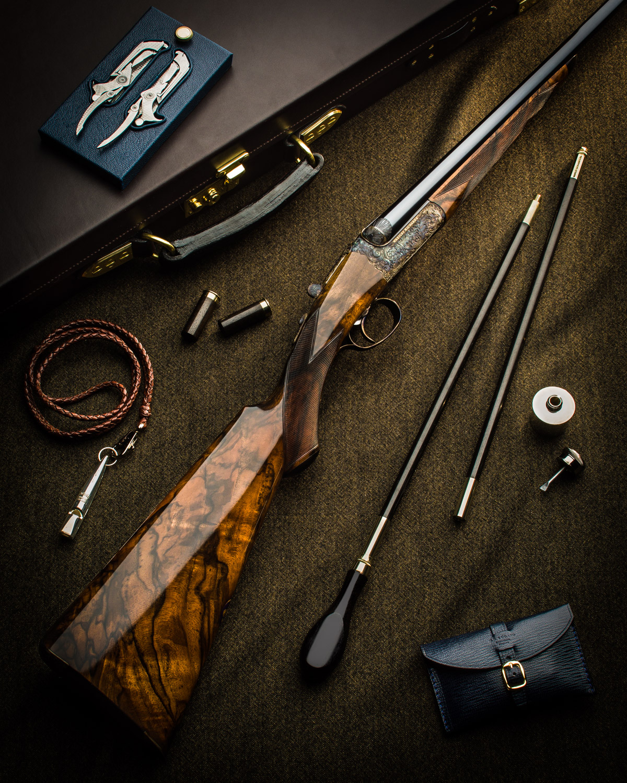 'Magnificent' Westley Richards 28 Bore Droplock Shotgun