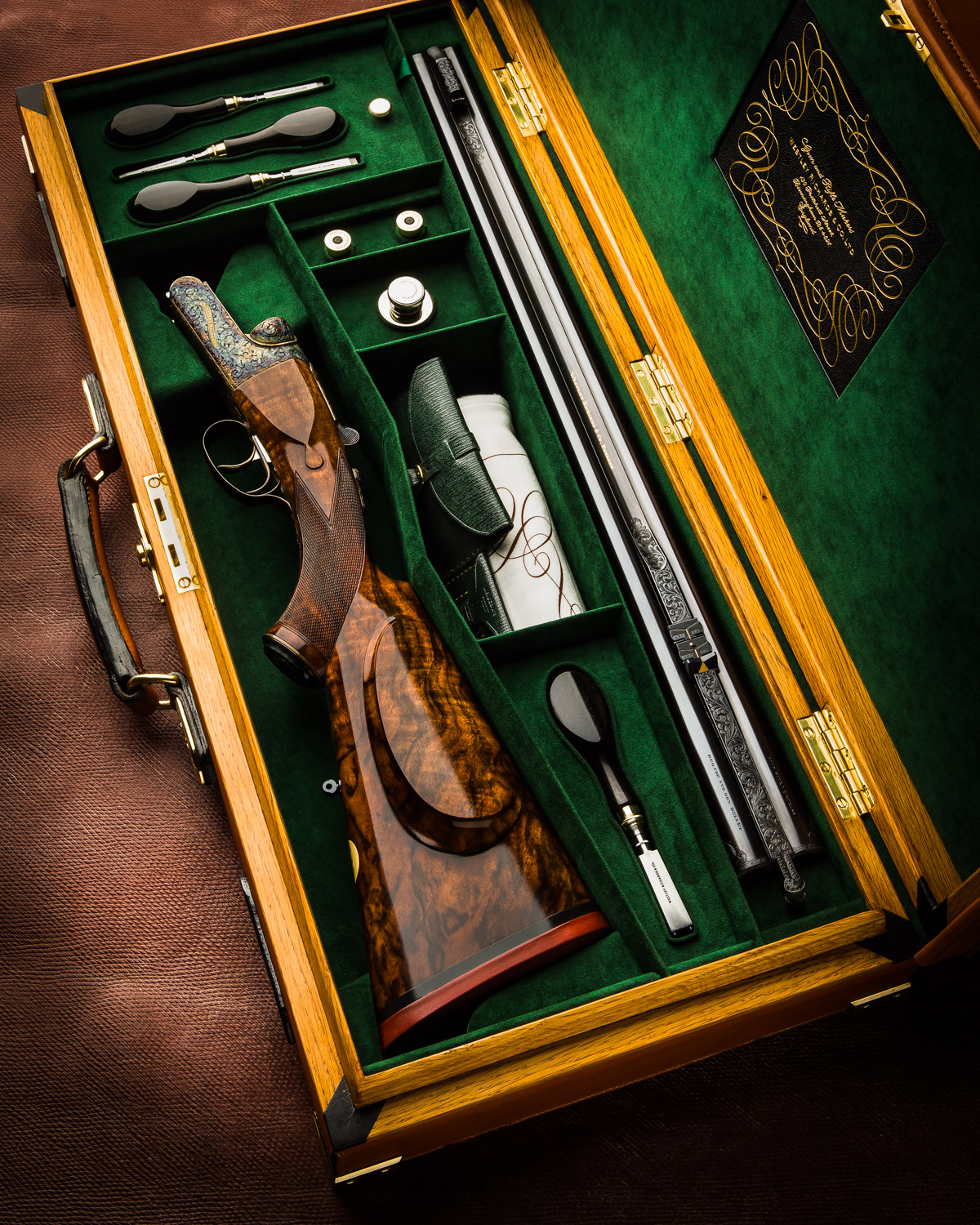 "Westley Richards 'Modéle de Luxe' .500 3"" Droplock Double Rifle"