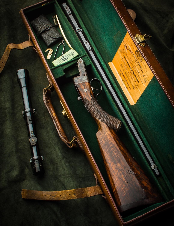 Westley Richards .22 Rook Rifle
