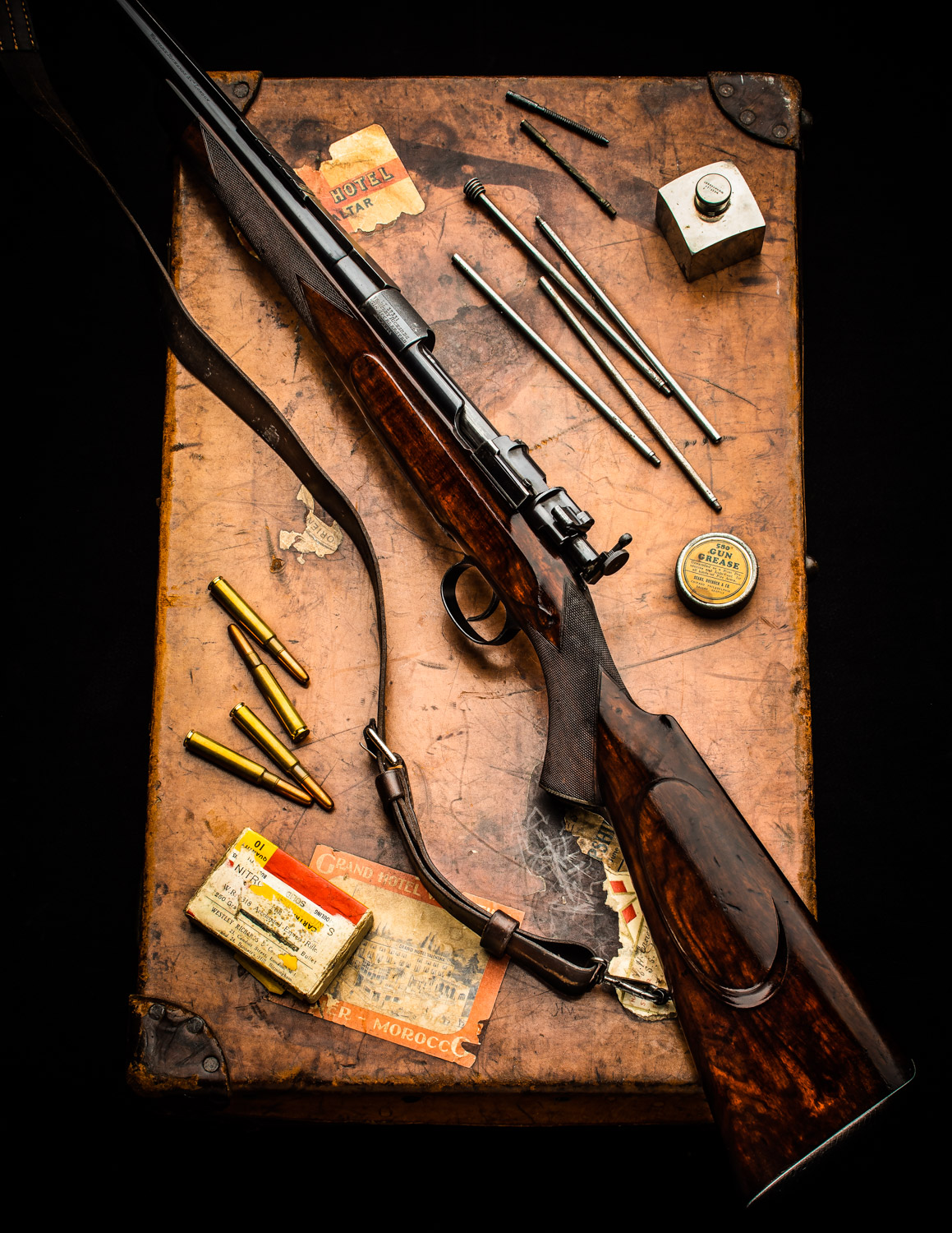 Another Surprising .318 Westley Richards Magazine Rifle Unearthed