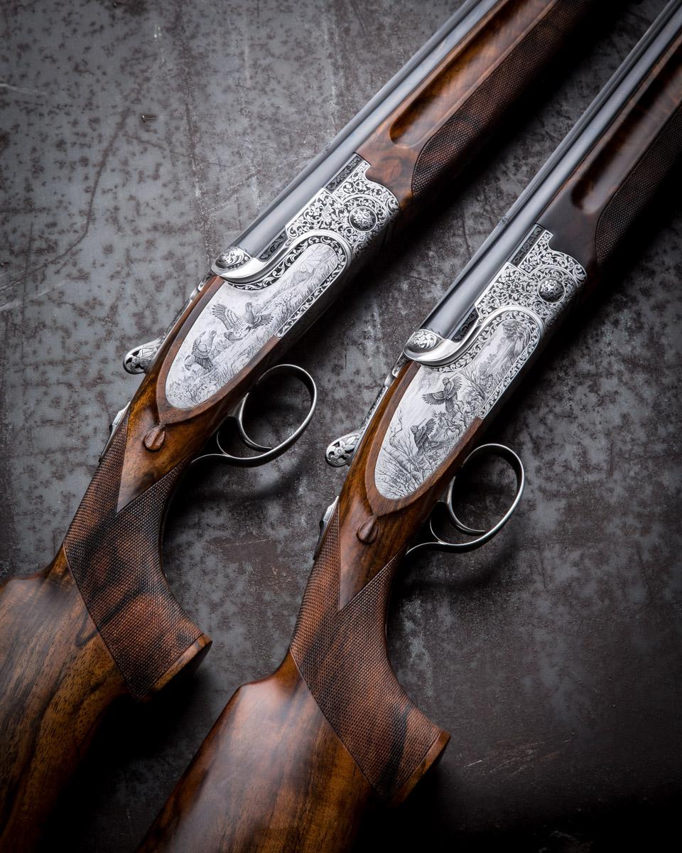 Beretta's Finest - Pair SO10 20g Over & Under Shotguns