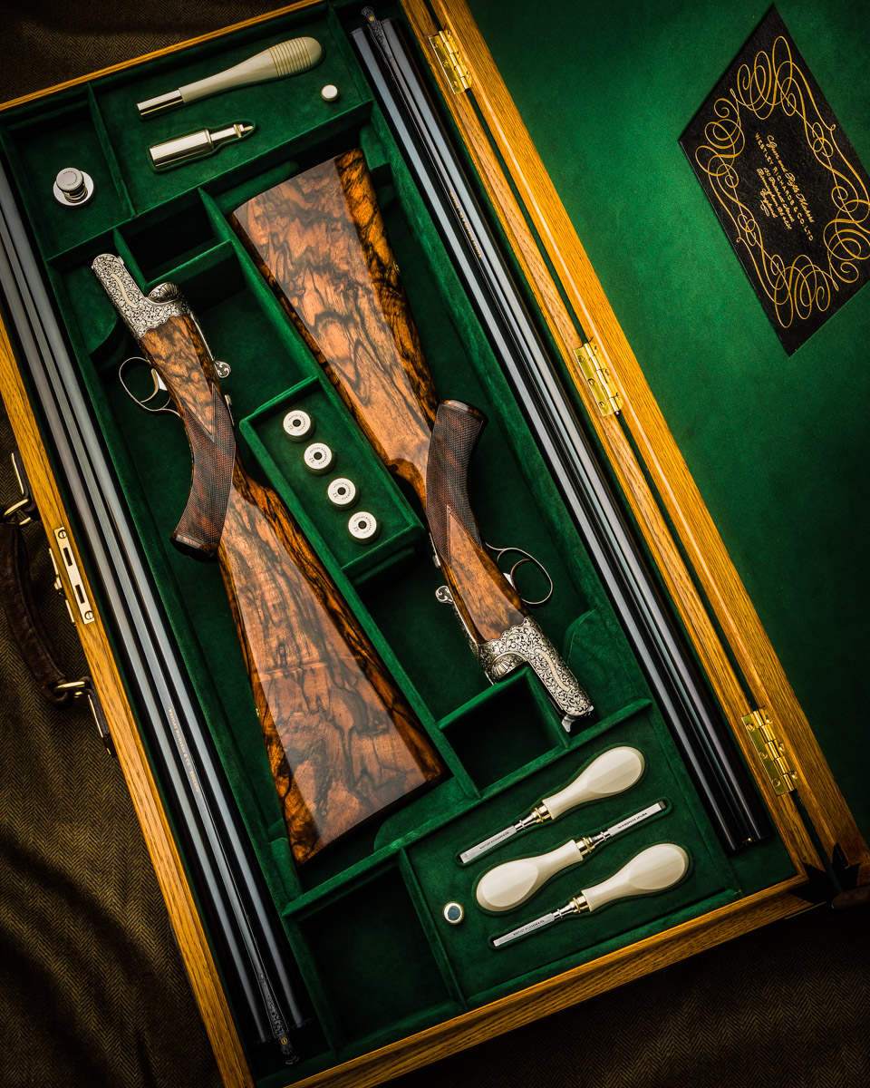 New Westley Richards 'Modéle de Luxe' 12g Pair