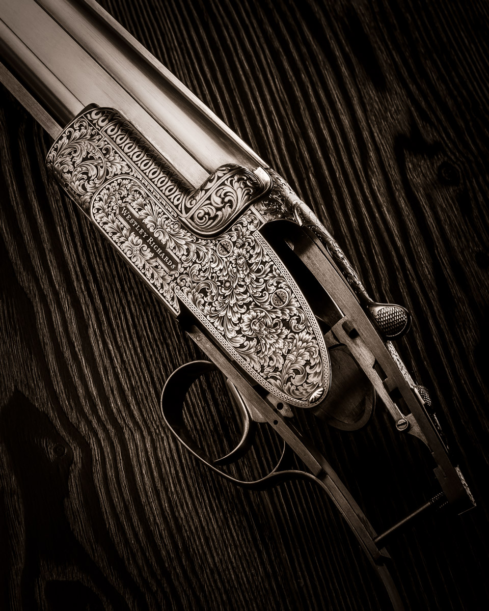 Latest Westley Richards 20g Ovundo Engraving