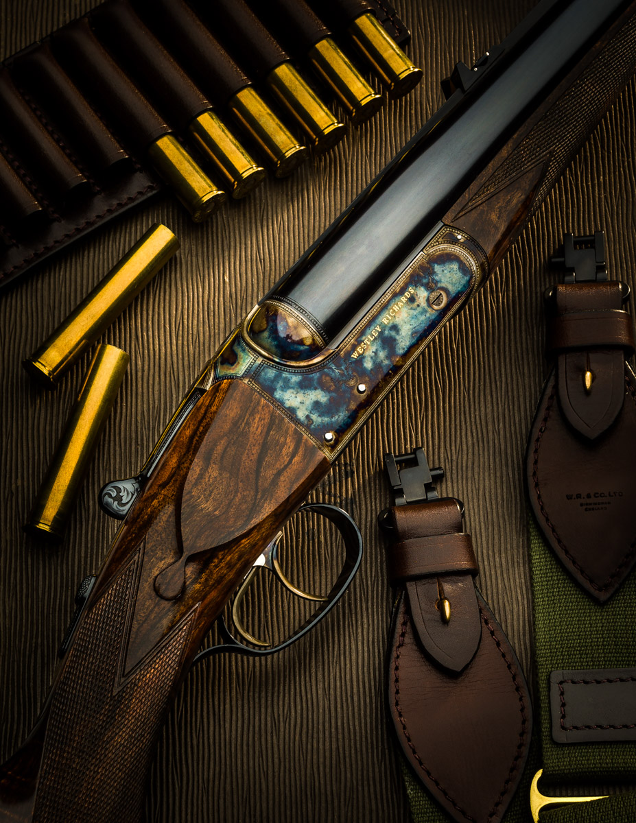 Beautiful New Westley Richards .500 Fixed Lock Double Rifle