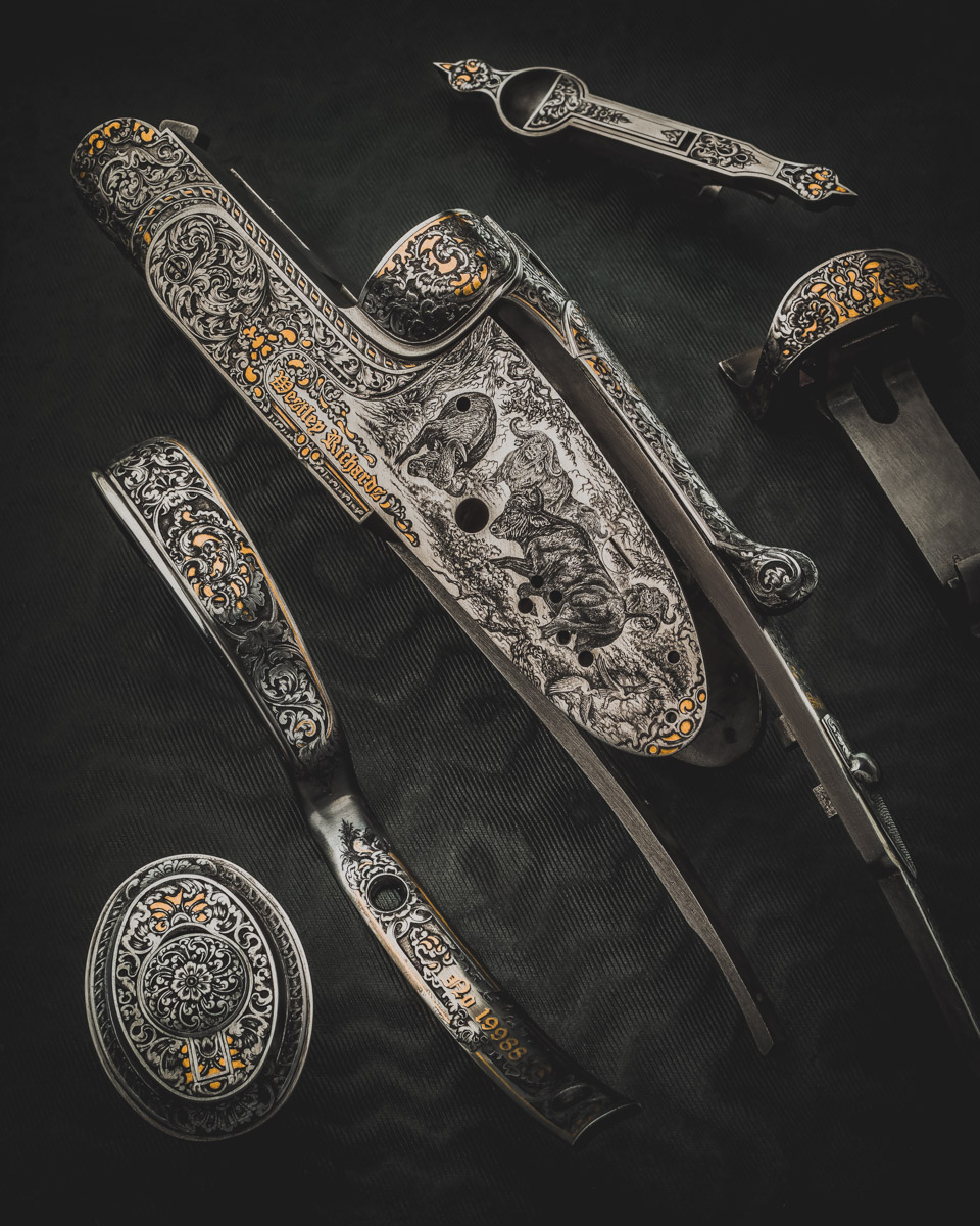 Exceptional Westley Richards .375 Sidelock Double Rifle
