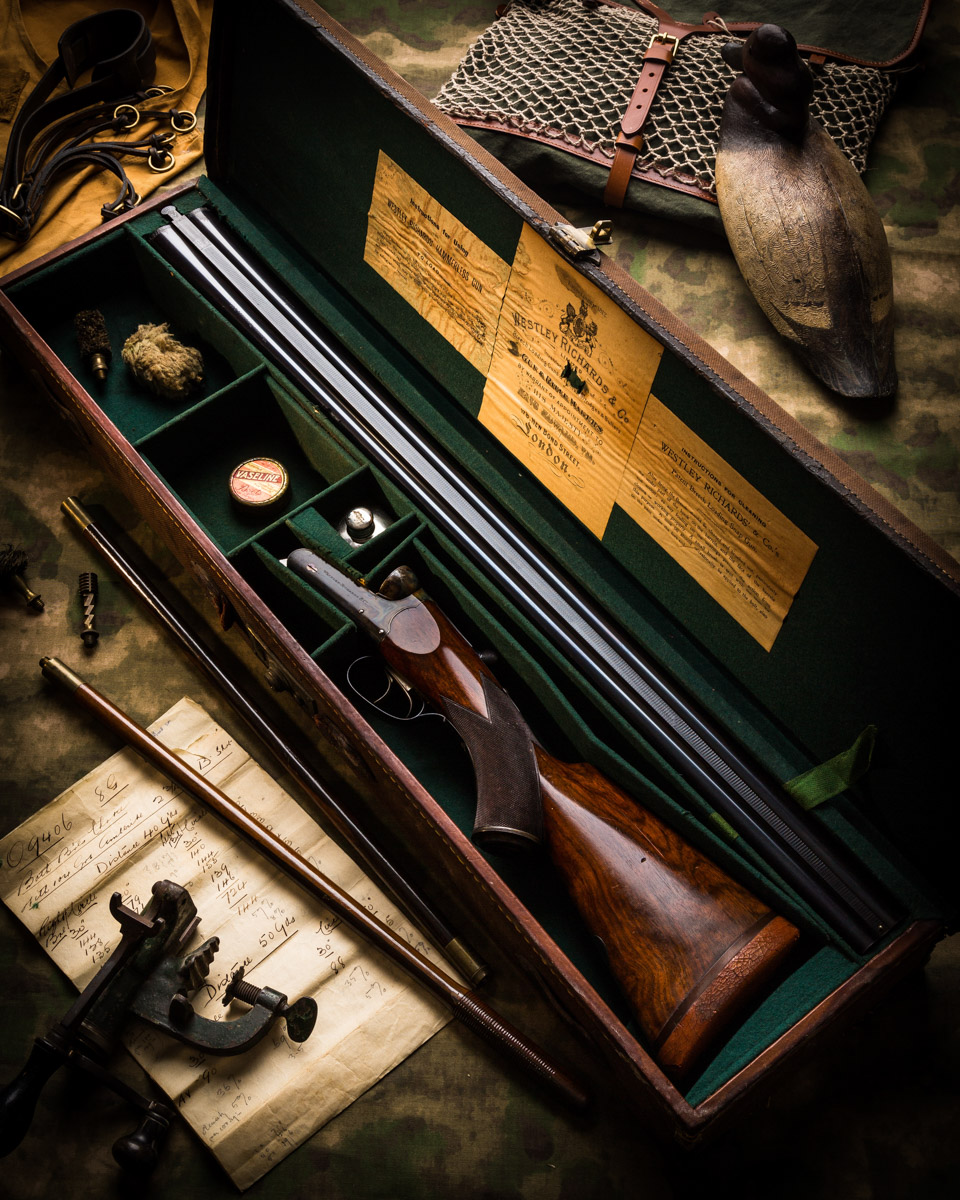 A Stunning Original Westley Richards 8 Bore Wildfowl Gun
