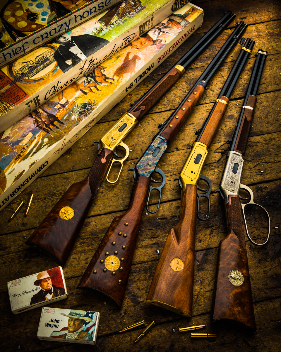 Winchester Commemorative Rifles at Westley Richards