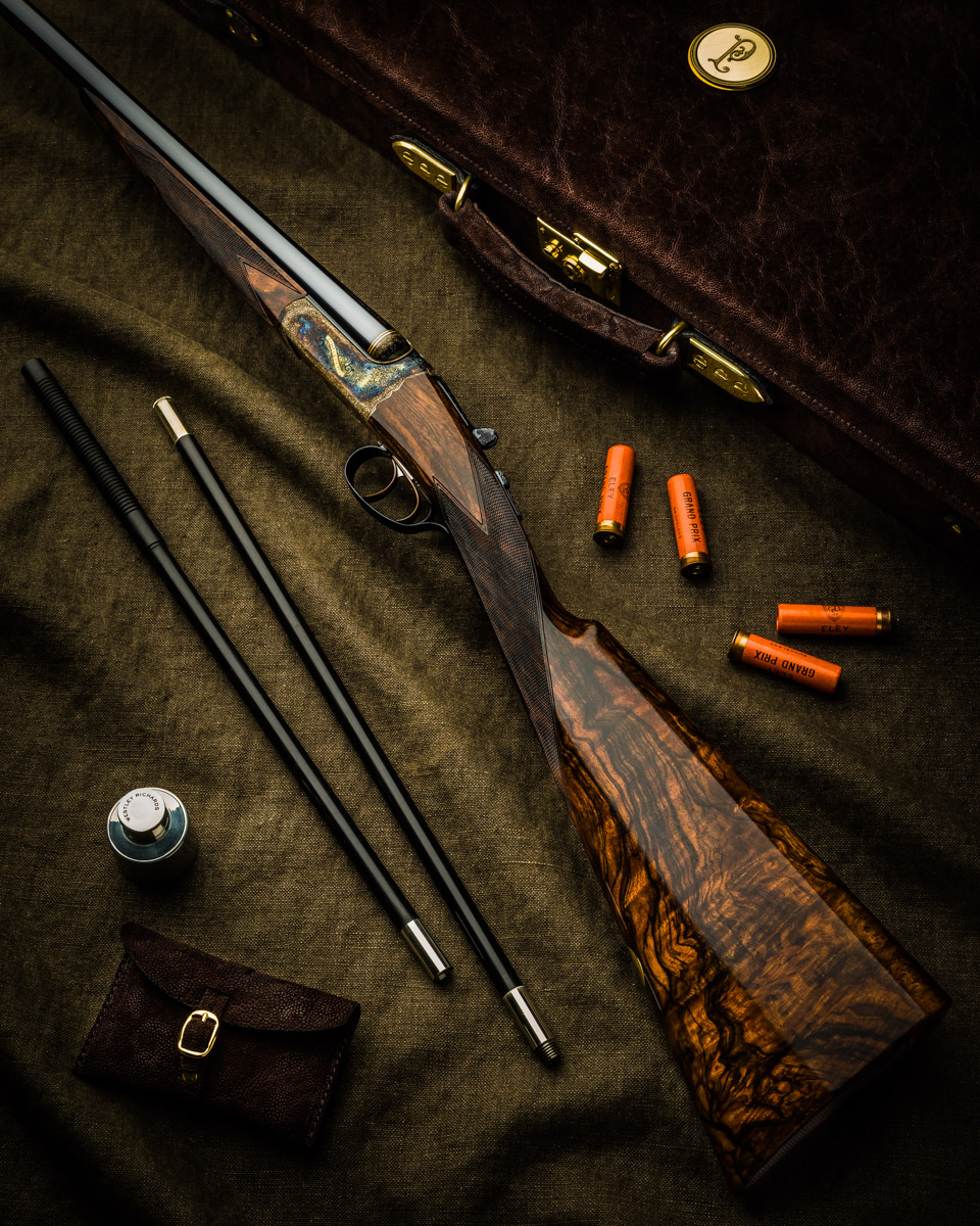 A New 'English' Westley Richards 28 Bore Droplock Shotgun