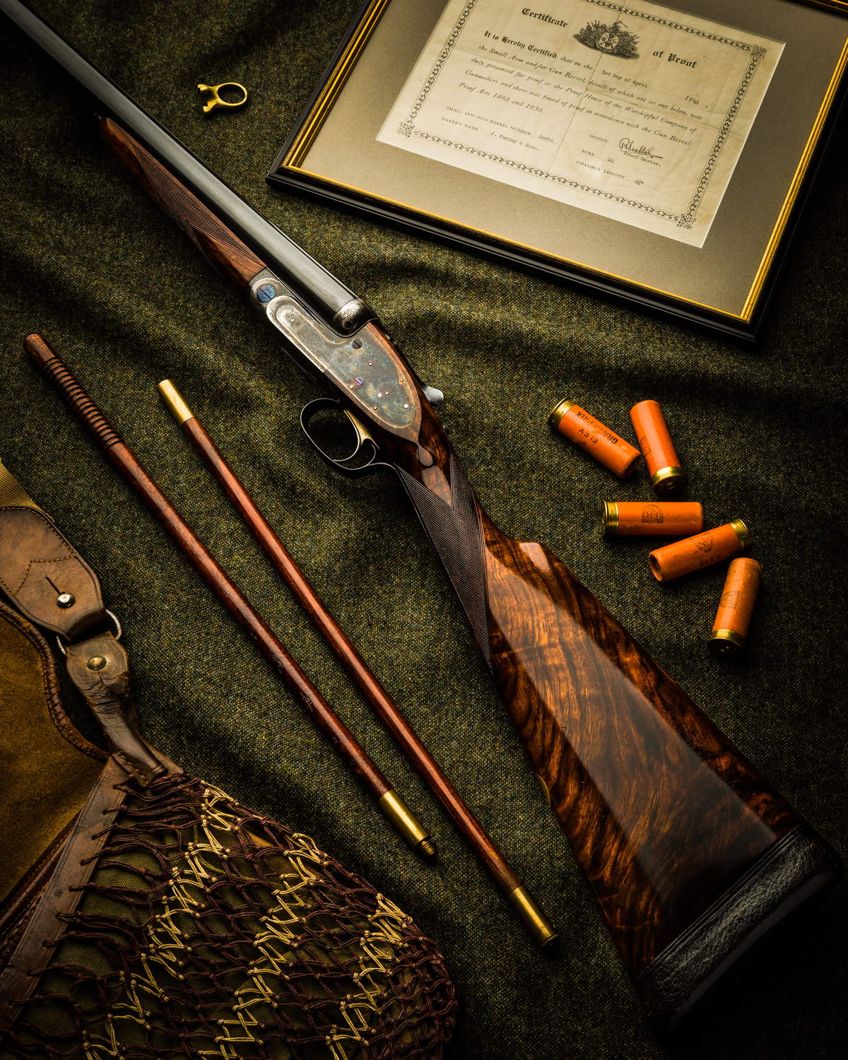 Pre-owned James Purdey & Sons 12g Sidelock
