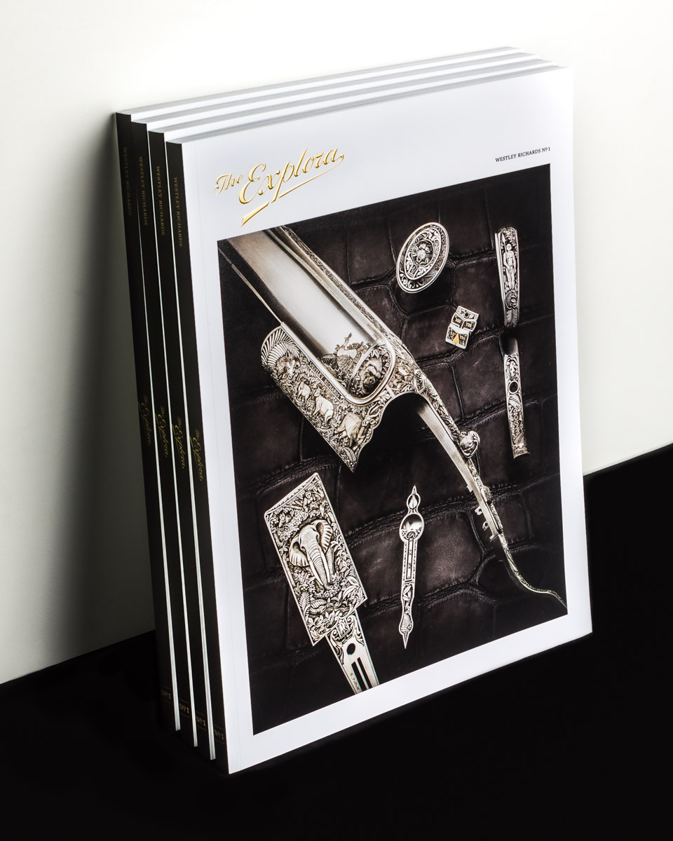 Westley Richards 'The Explora' Journal - In From The Printers!!!!