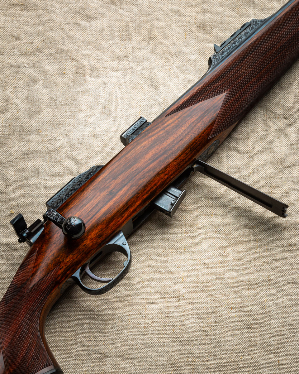 A Rare Westley Richards .22 LR 'Best Quality' Bolt Action Rifle