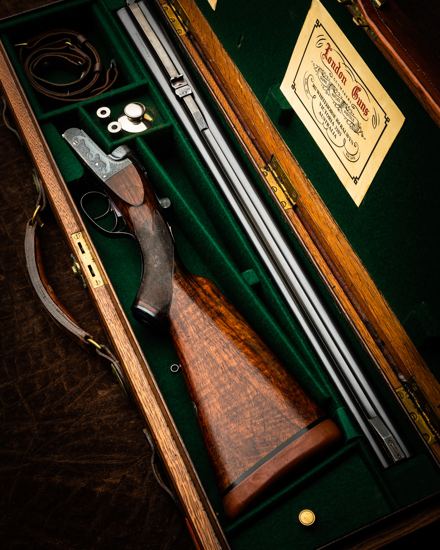 Fine B. Halliday & Co. .470 Boxlock Double Rifle