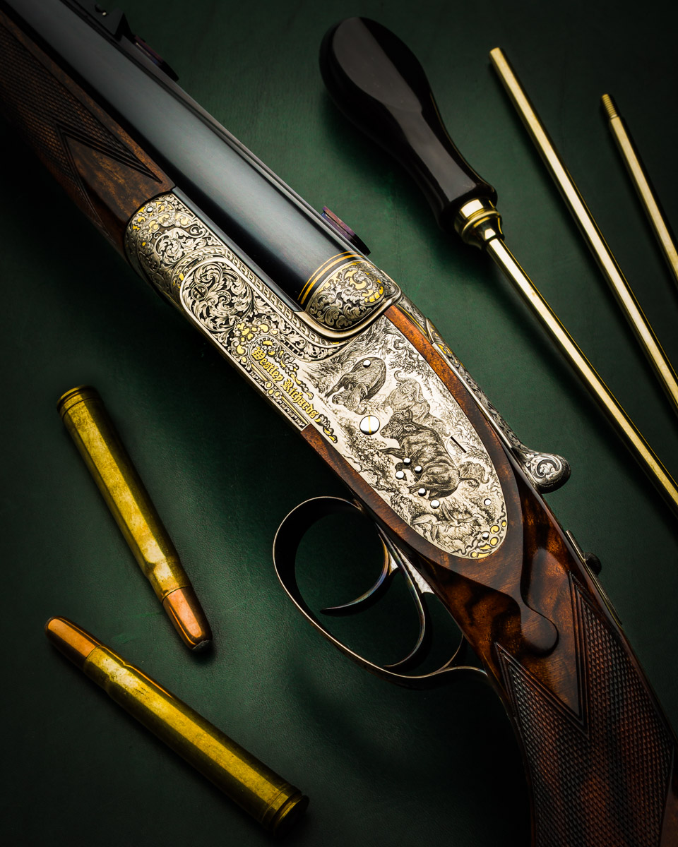 Stunning Westley Richards .375 Sidelock Double Rifle