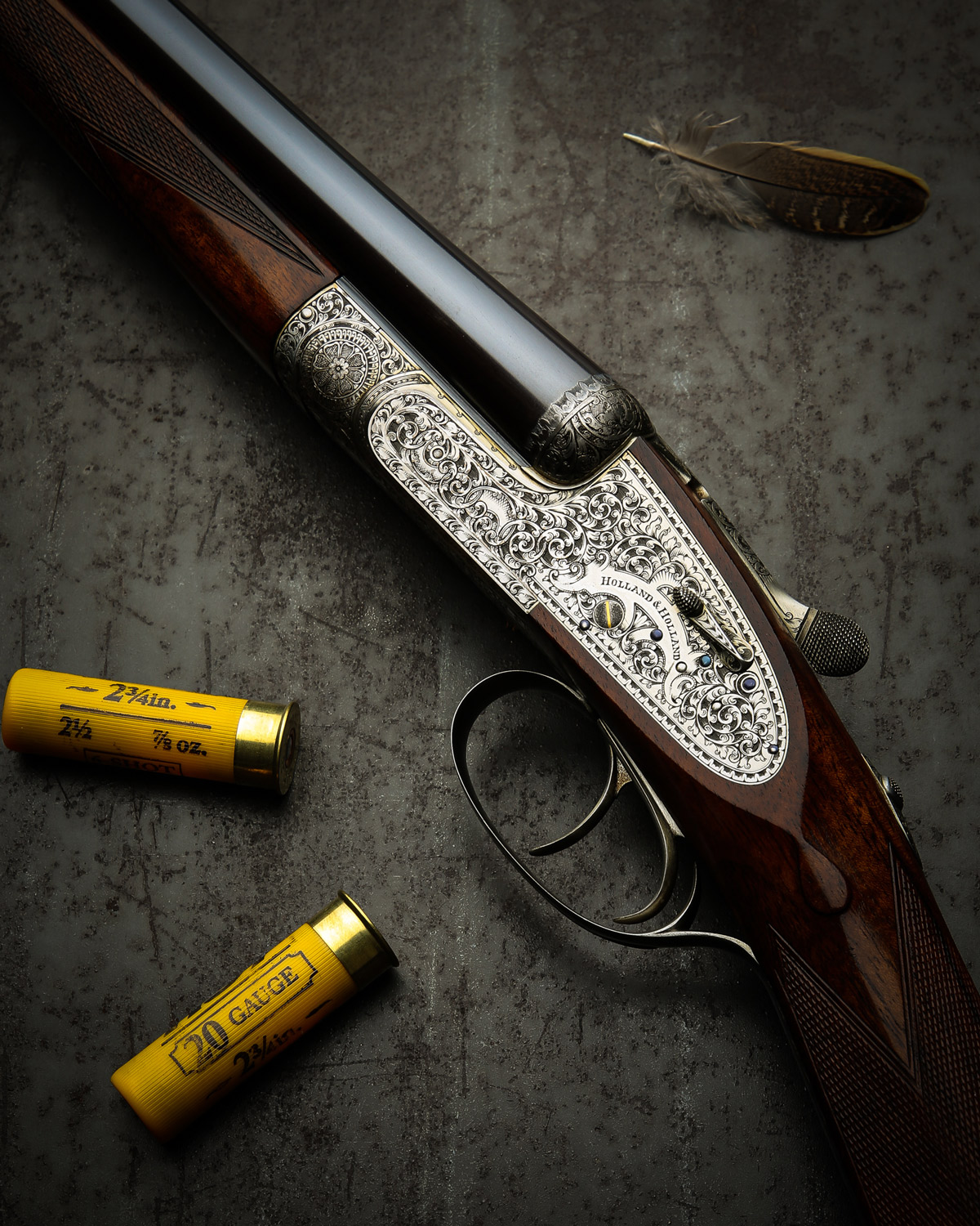 Some Great Vintage Holland's At Westley Richards US Agency
