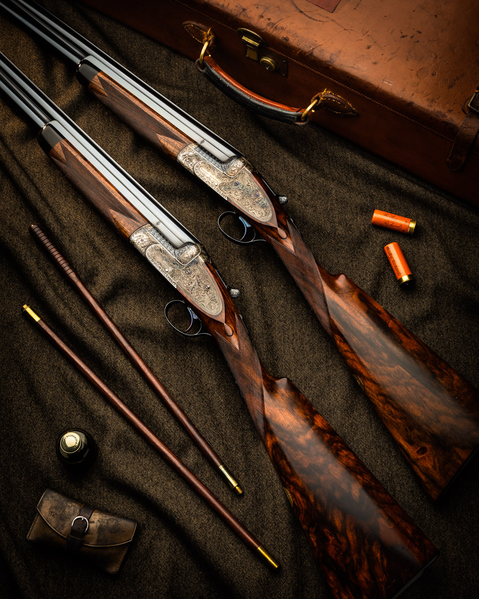 A Lovely Pair Of Vintage Westley Richards 12g 'Ovundo'