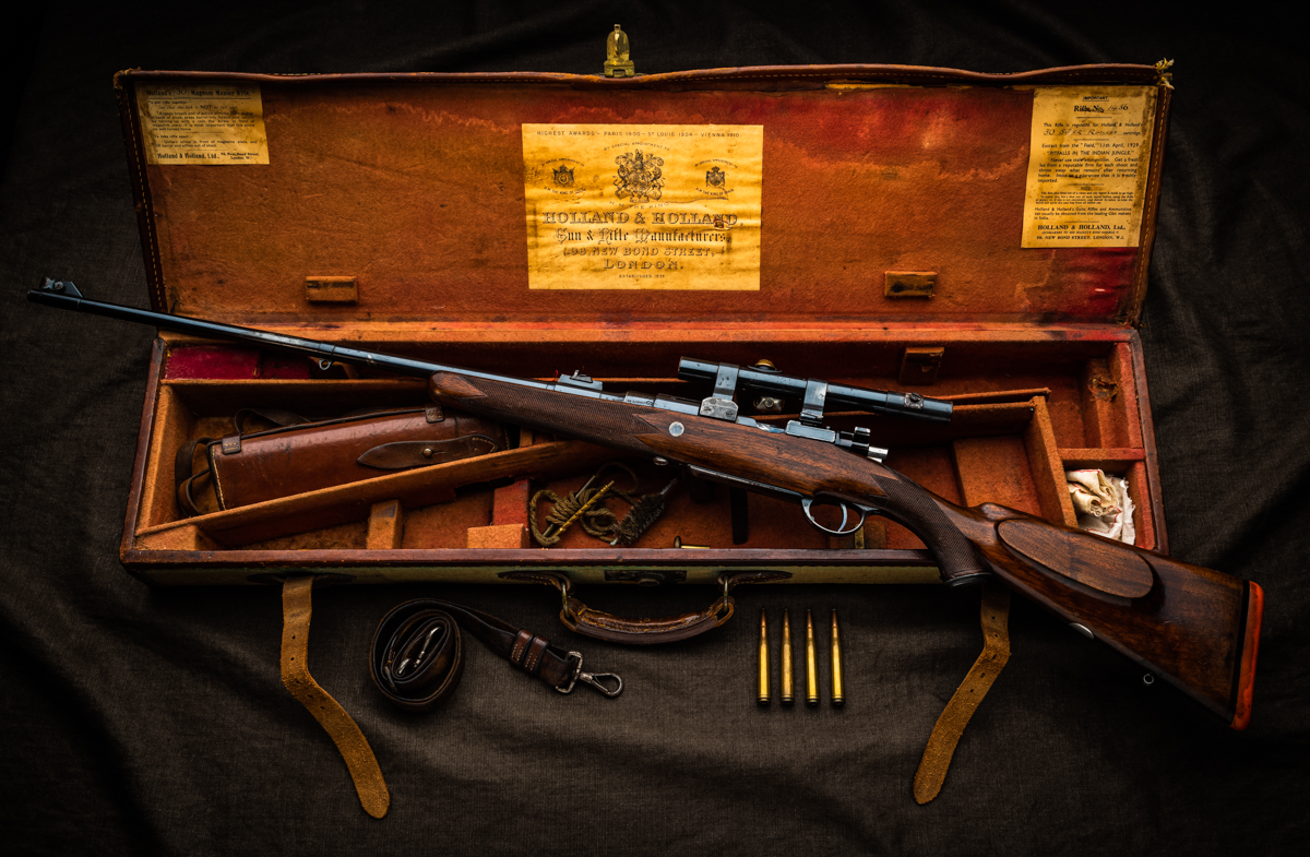 A Vintage Holland '.30 Super' Here At Westley Richards