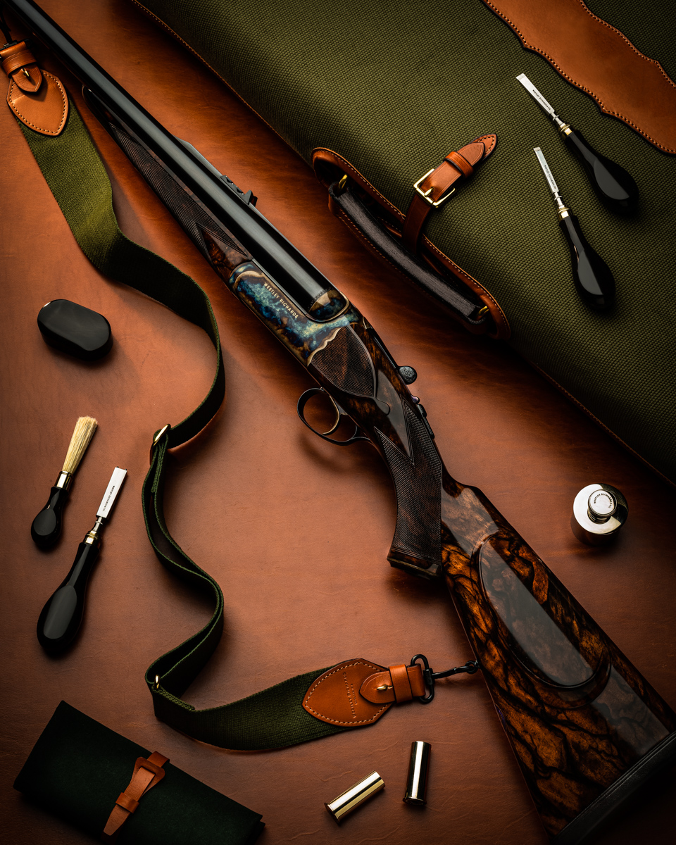A Twist In The Tigers Tail - Westley Richards .577 'Gold Name' Double Rifle