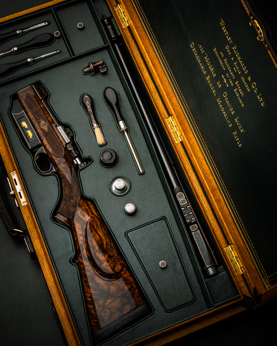The Finest Westley Richards .425 Magazine Rifle Ever Built!!!