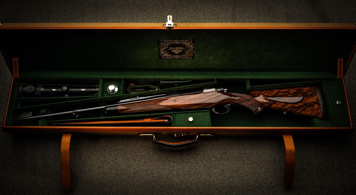A 'Modele De Luxe' .416 Bore Bolt Action