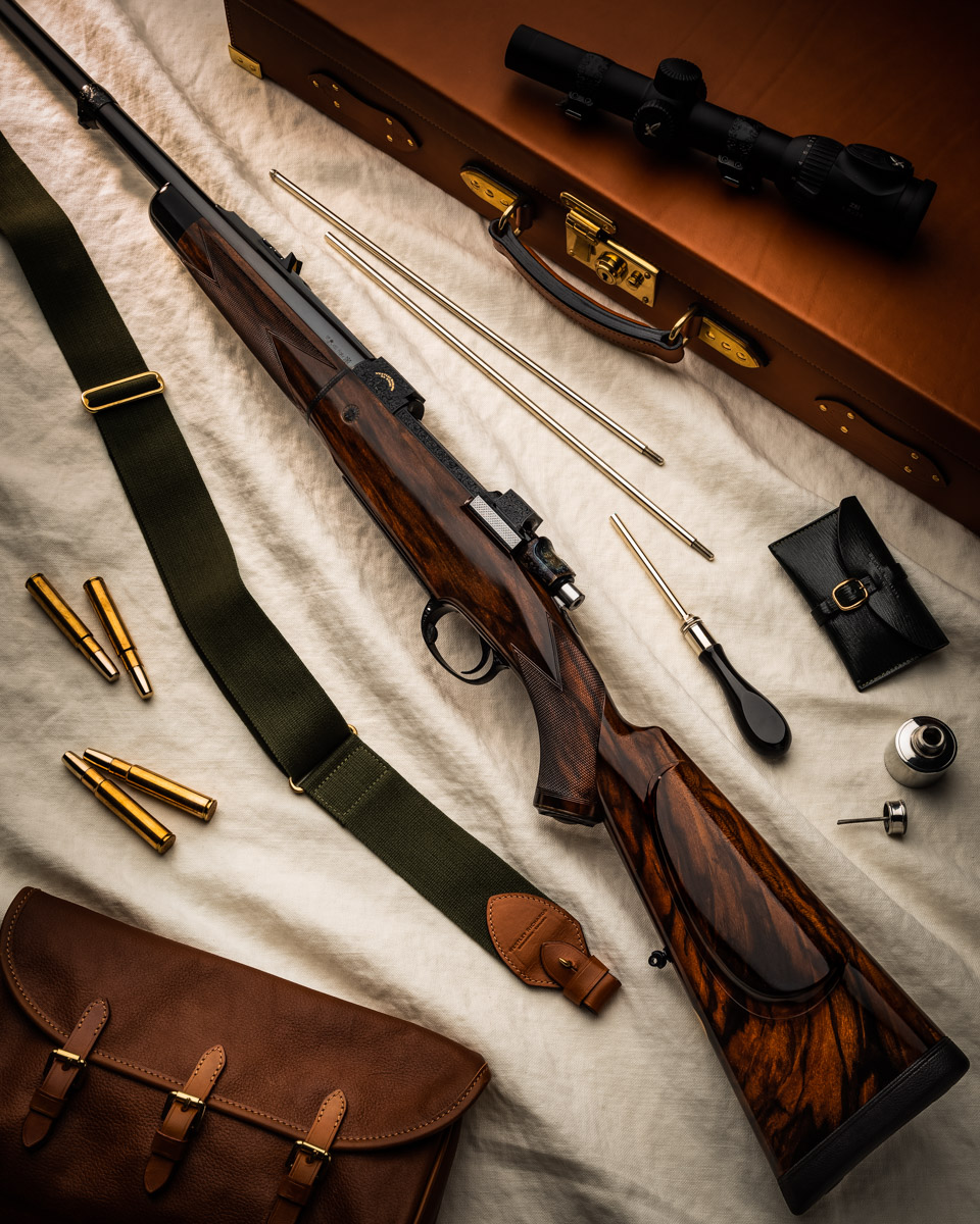 Elegant Westley Richards 'Detachable Barrel' Magazine Rifle In .450 Rigby