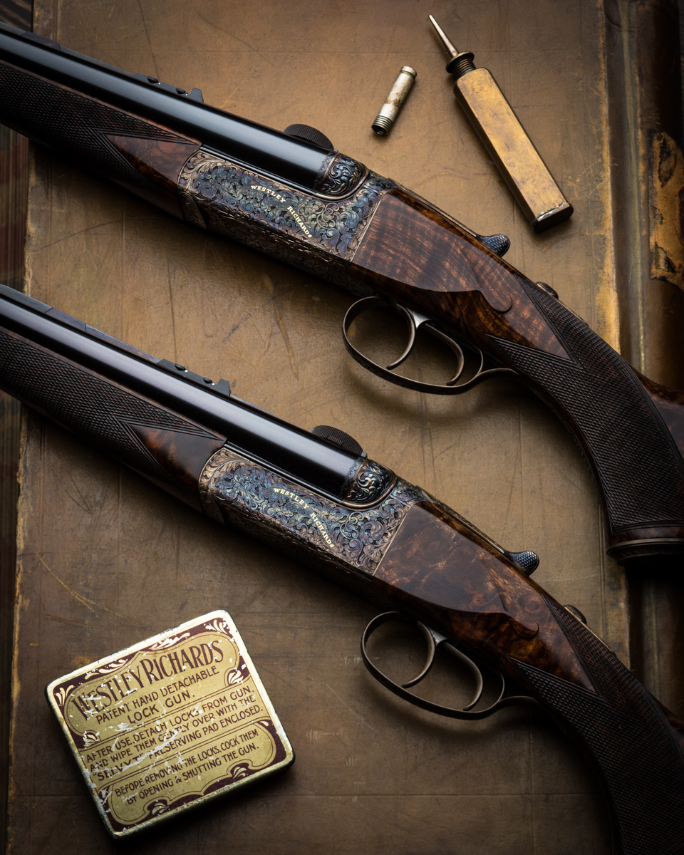 Westley Richards 'Gun Archive' - The Droplock Double Rifle