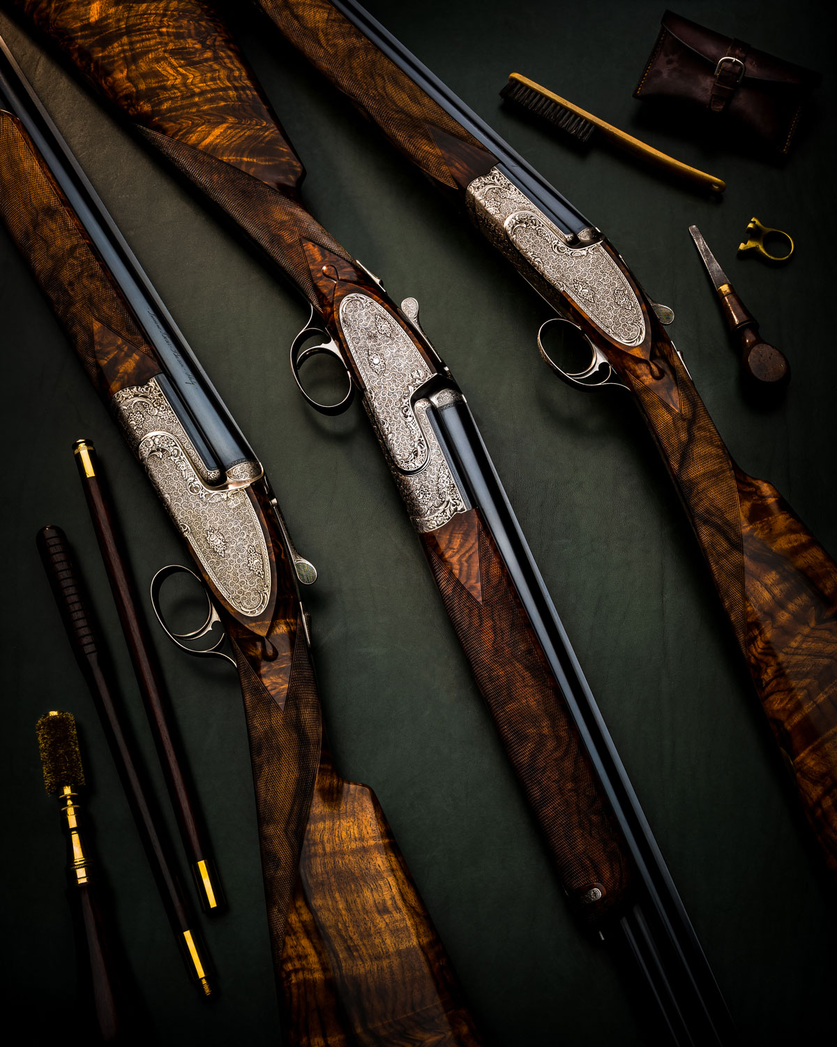 Three Stunning Bosis Michelangelo Over/Unders for Sale at Westley Richards