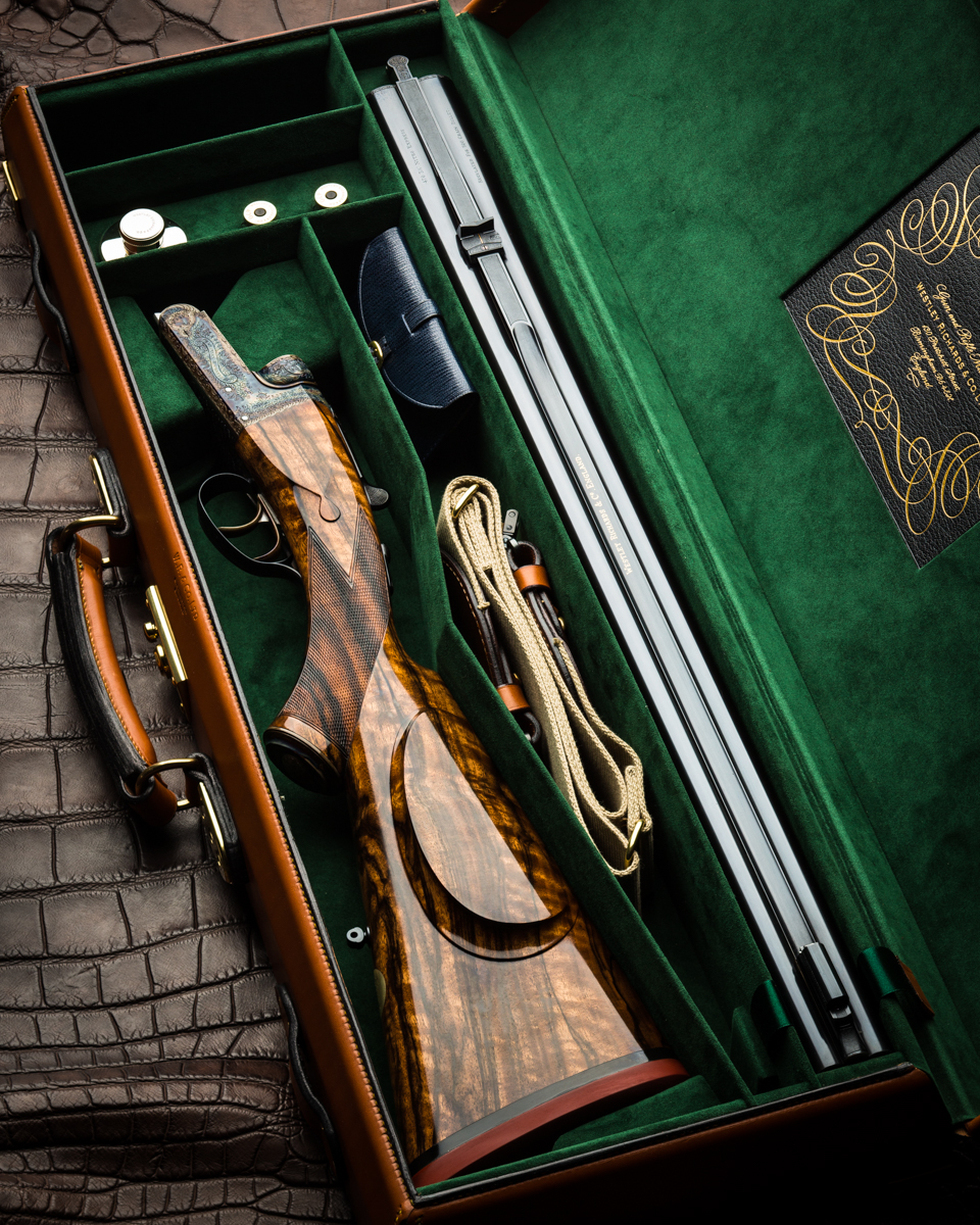 Westley Richards 'Gun Archive' The Fixed Lock Double Rifle