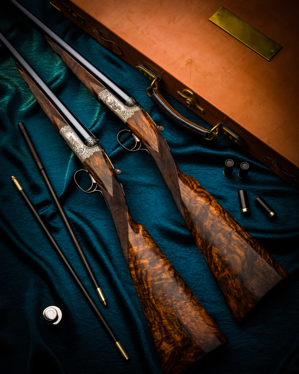Beautiful Westley Richards 20 Bore 'Millennium' Guns Return